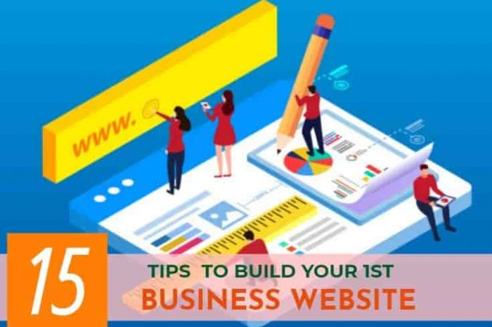 15 Tips for Building your Business Website